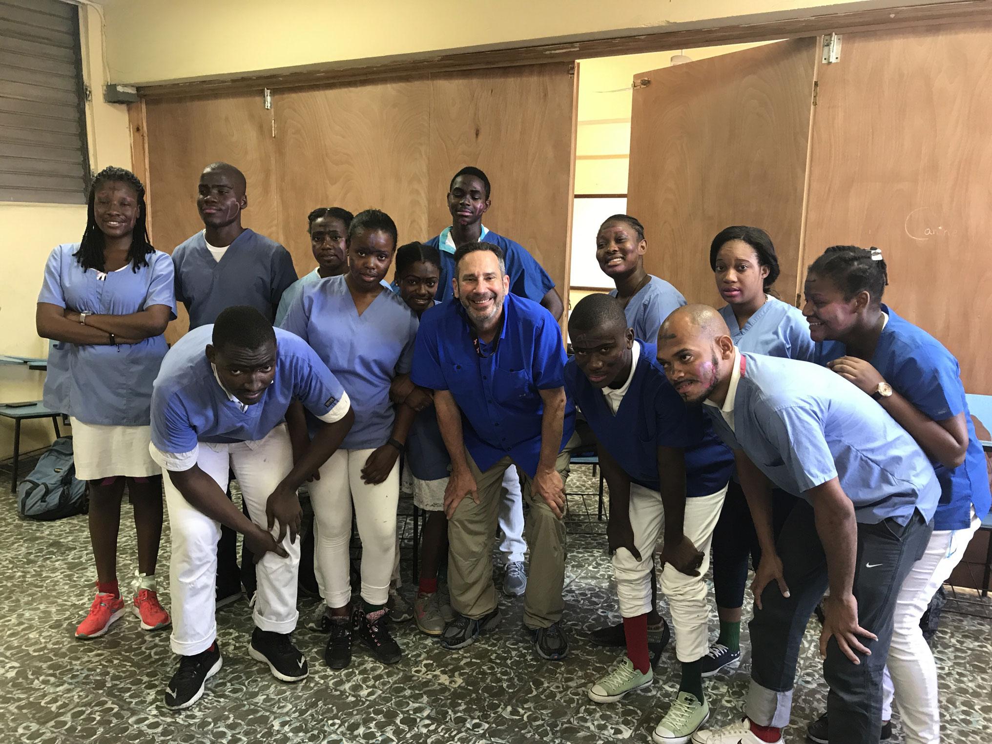 Dr. Richard Cohen trip to Haiti